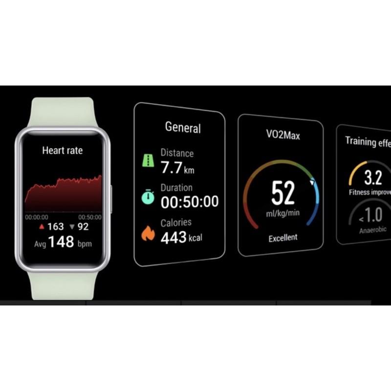 【Ready Stock】HUAWEI WATCH FIT Smart Watch Jam Tangan GPS By HUAWEI