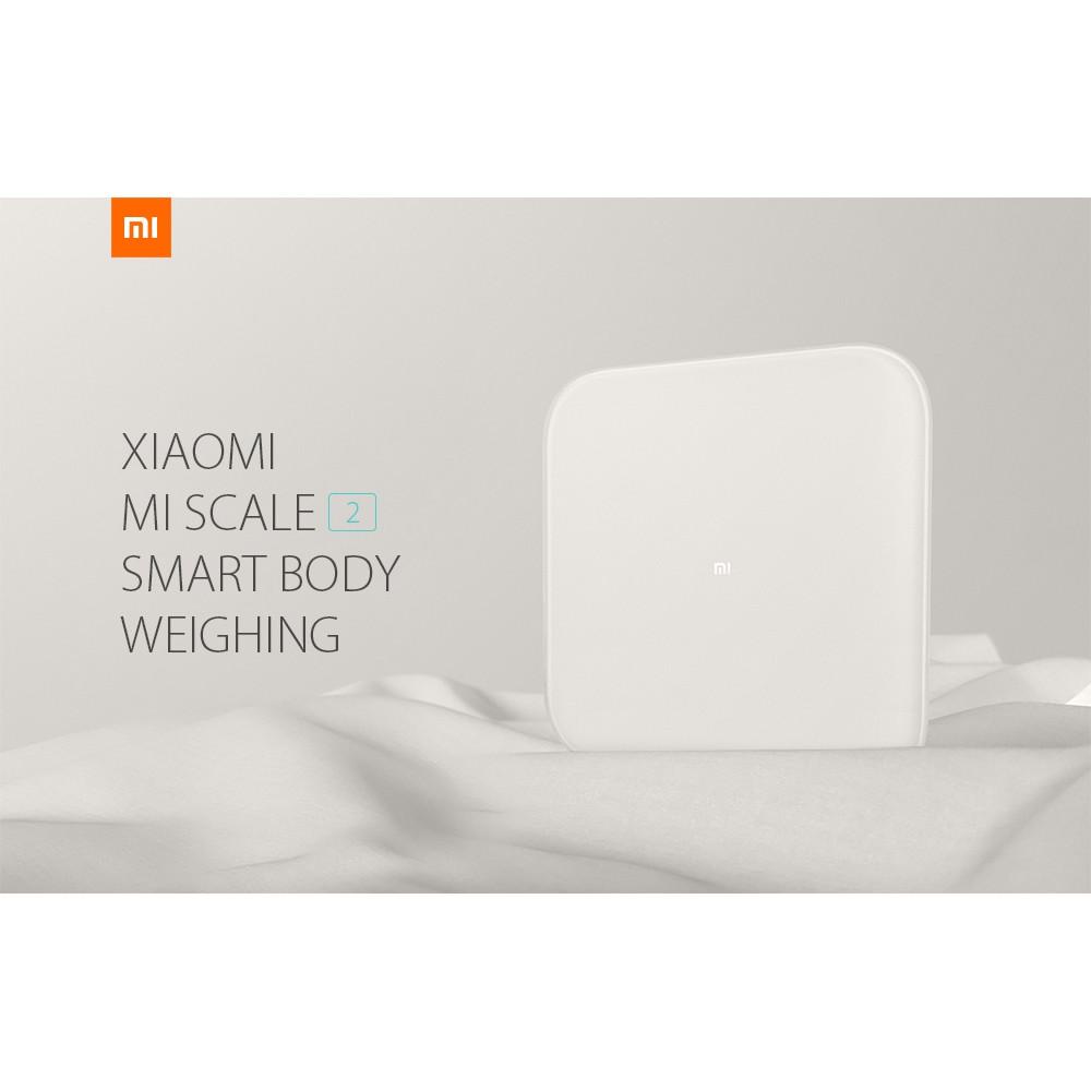 Xiaomi Mi Scale 2 Smart Control Bluetooth 5.0 Body Weighing