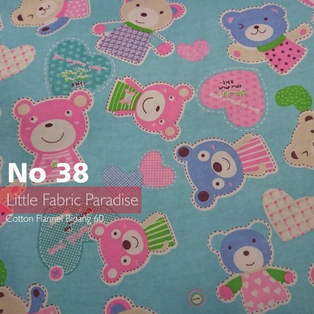 Cotton Flannel 60 Inci Bear No 38 Shopee Malaysia