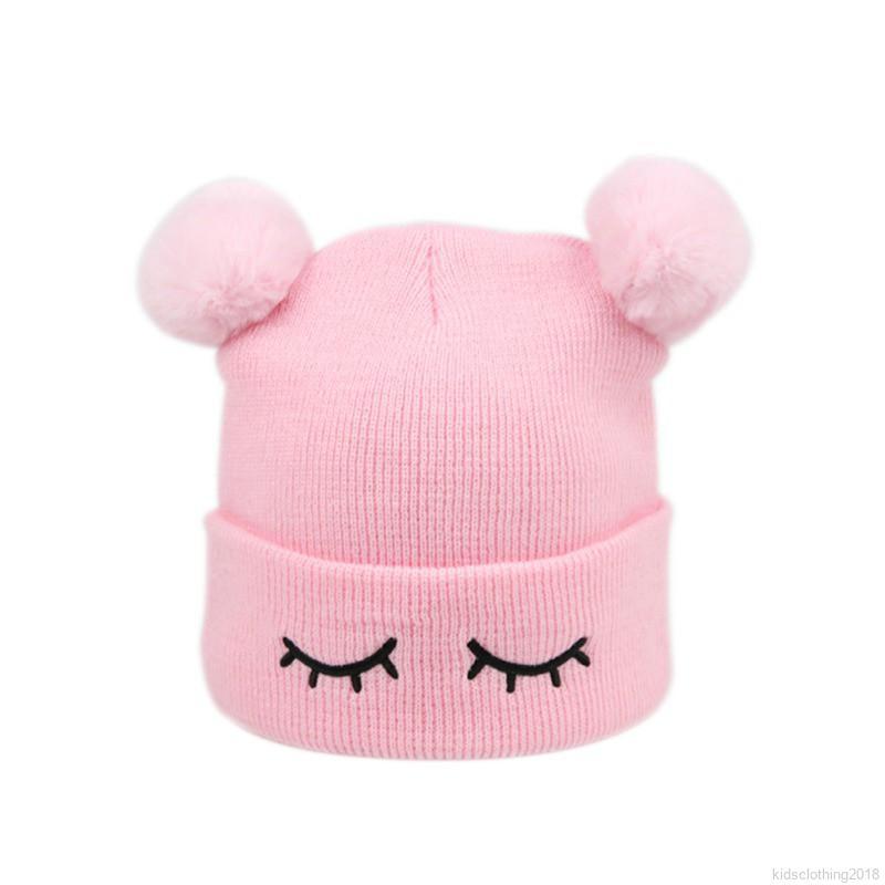 Cute Bowtie Owl Winter Wool Cap Warm Beanies Knitted Hat
