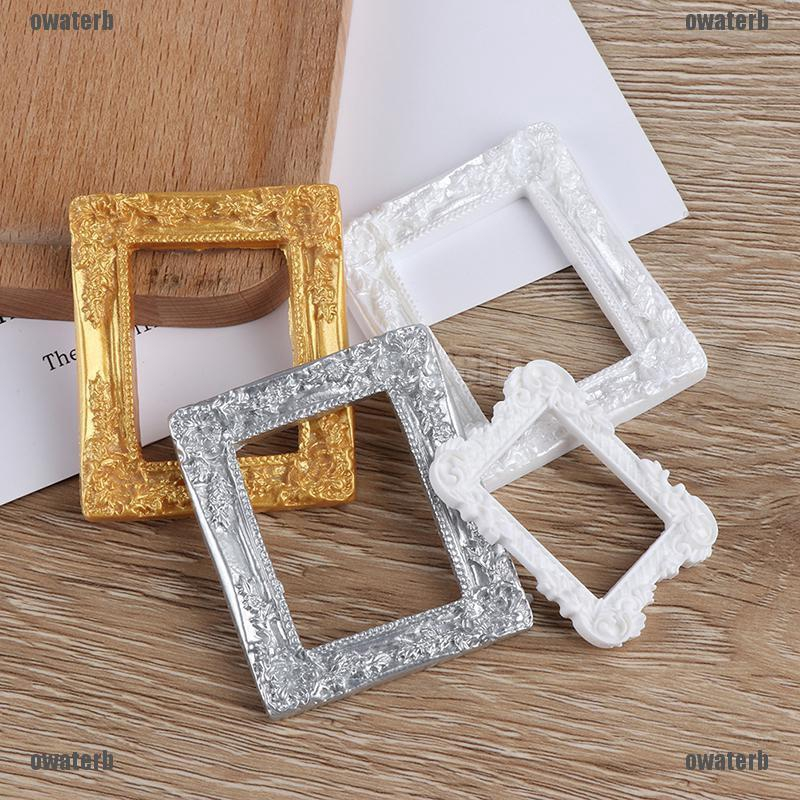 Miniature art picture photo painting frame dollhouse decor accessories