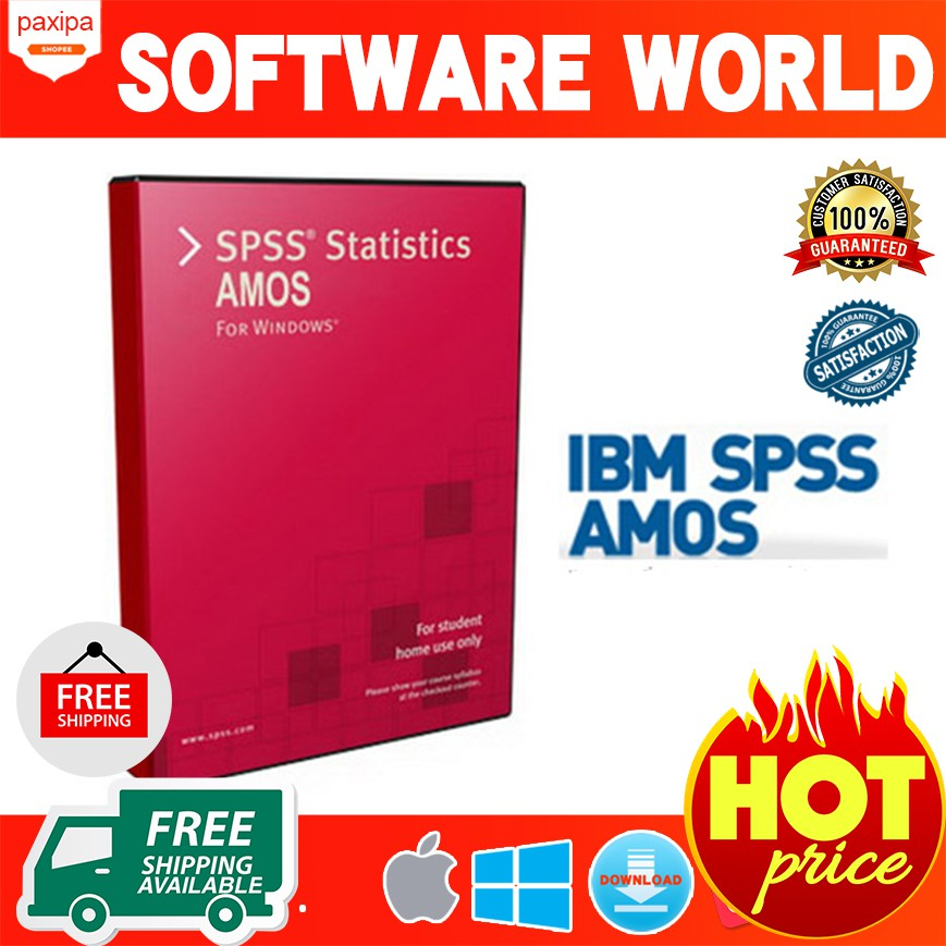 [100% WORK] IBM SPSS AMOS V22 windows
