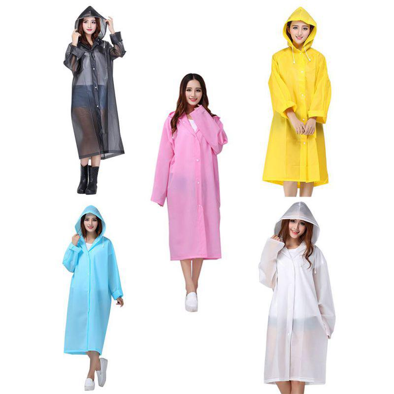 order strong packing On Clearance Adult Raincoats Household Thicken Waterproof Unisex Rain Jacket Summer  Raincoats