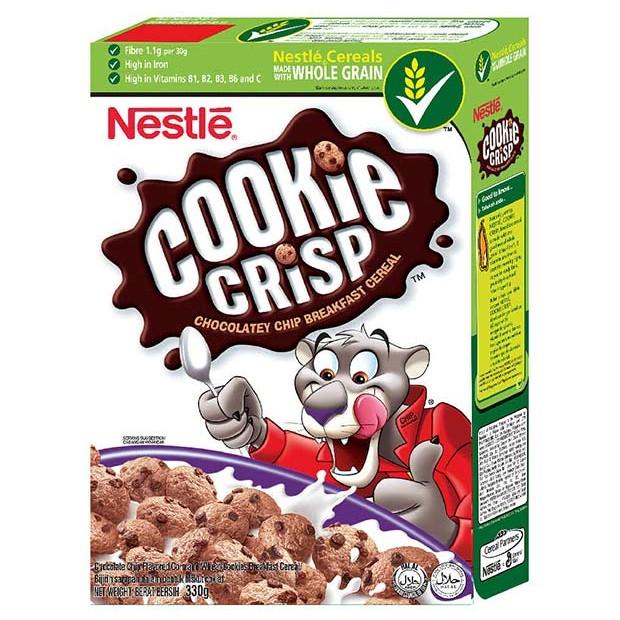 Cookie Crisp Cereal 2x330g