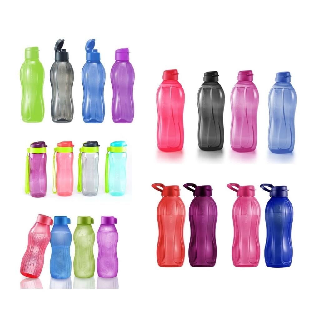 Tupperware 1 Liter 1L Bottle or Giant 2L 2 Liter or 1.5L 1.5 Liter 880ml 500ml Bottle Eco Drinking Flip Top Bottle