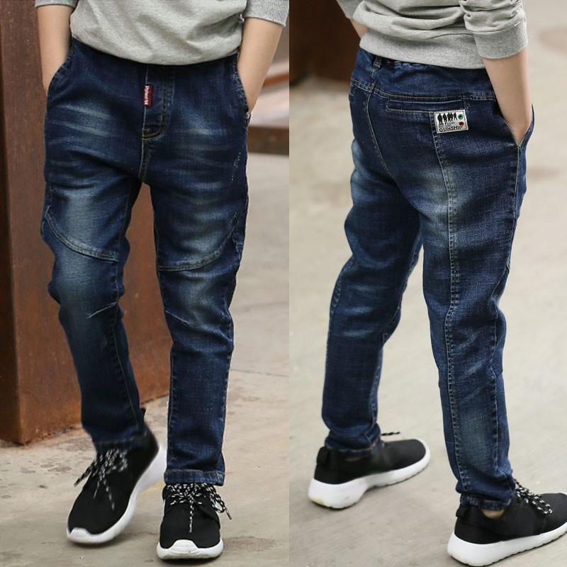 IENENS Kids Children Boys Jeans Clothes Slim Straight Trousers Boy Fashion  Baby Kid Denim Long Pants Clothing | Shopee Malaysia