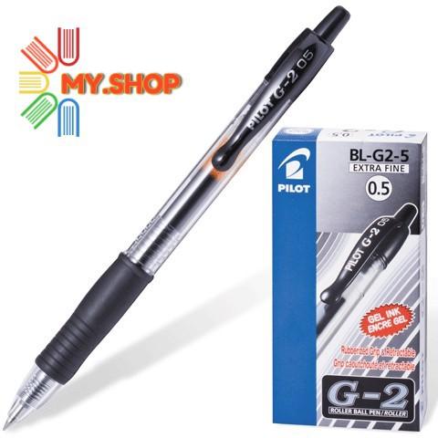 Pilot G2 Retractable Gel Pen 0.5/0.7mm - Black/Blue/Red