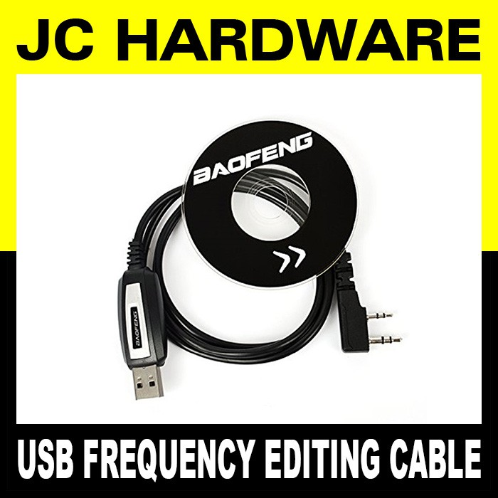 Baofeng USB Programming Cable Frequency Editing With CD for walkie talkie