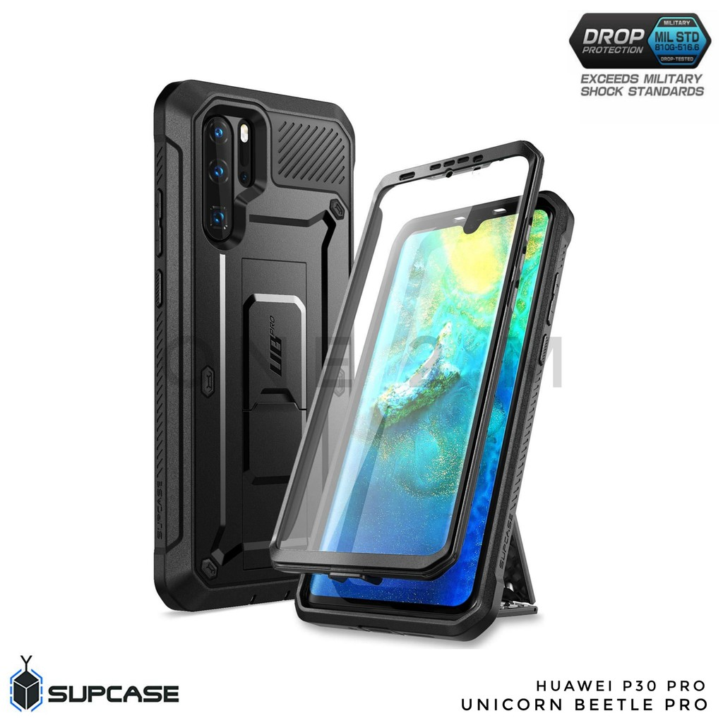 buy online bdd27 e974e Authentic Supcase Unicorn Beetle Pro 360 Rugged Case for Huawei P30 Pro