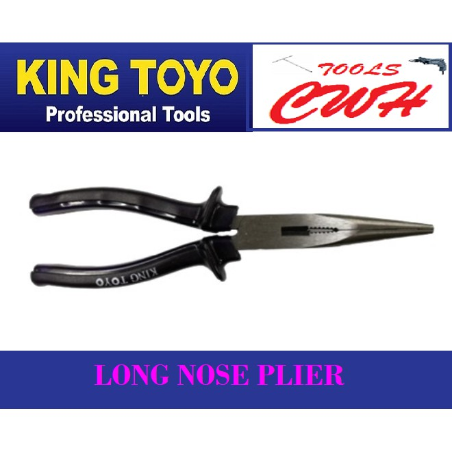 King Toyo Long Nose Plier  STANLEY BOINDHUS TOPTUL COMBINATION M10 SATA SATAGOOD