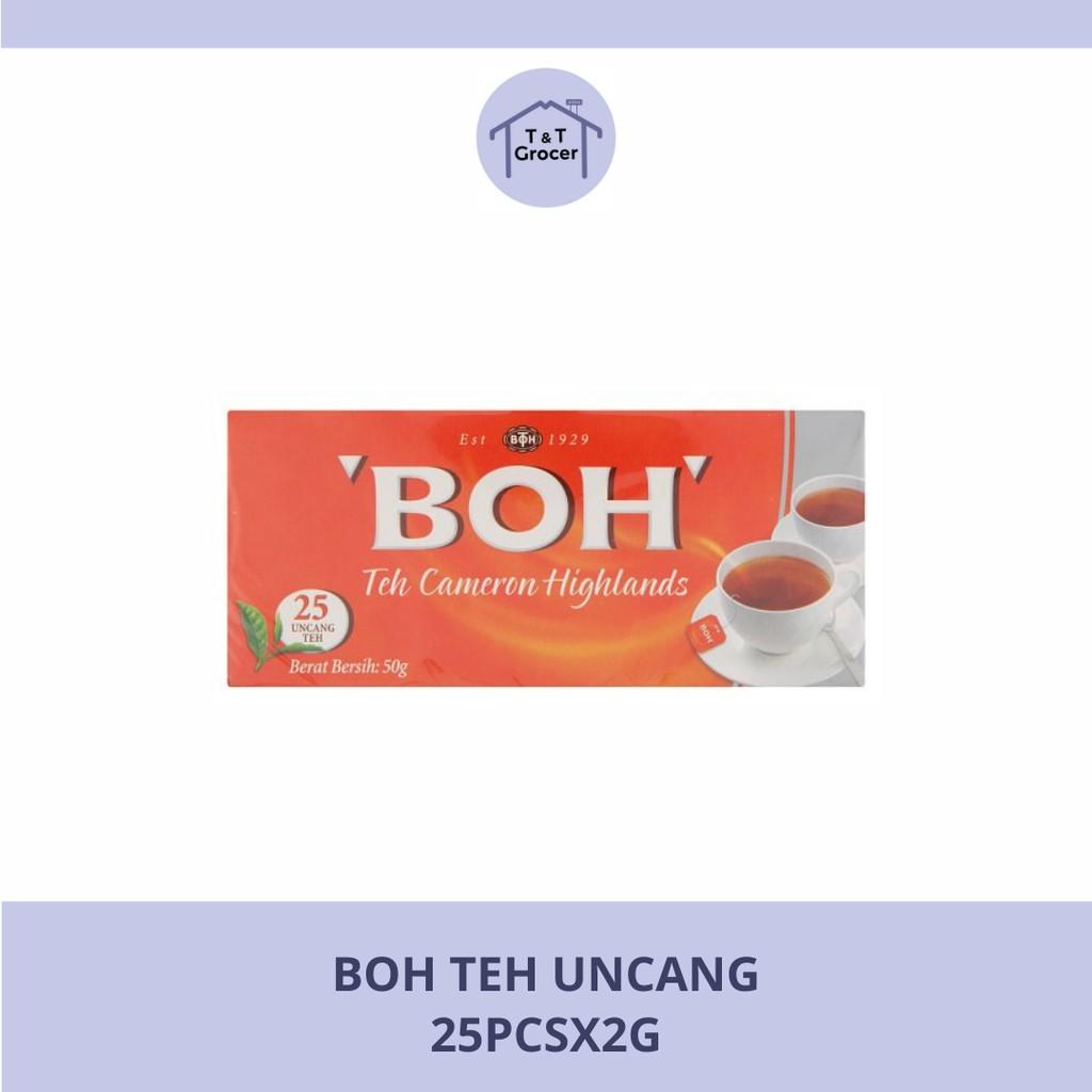 BOH Teh Uncang (25pcs/ 50pcs/ 100pcs)