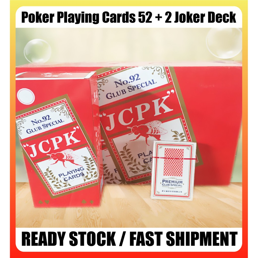[READY STOCK] Poker Playing Cards 52 + 2 Joker Deck