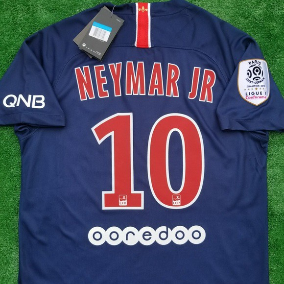 buy online af1cb c9298 PSG NEYMAR JR JERSEY HOME CHAMPIONS LEAGUE