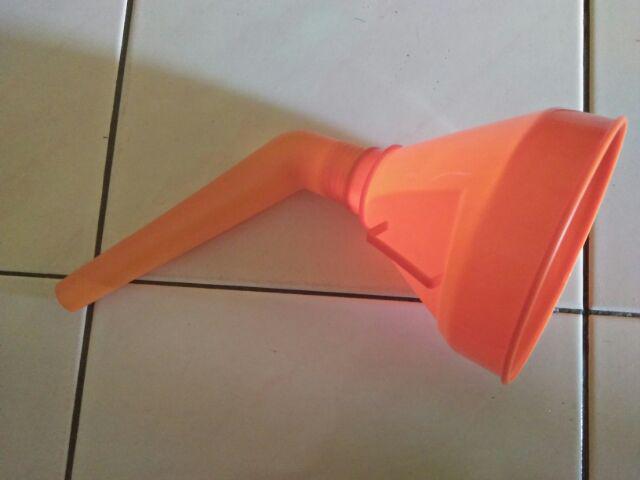 Detachable Spout Car Can Universal Flexible Tube Mesh Filter Orange Water Oil Durable Tools Fuel Funnel Accessories