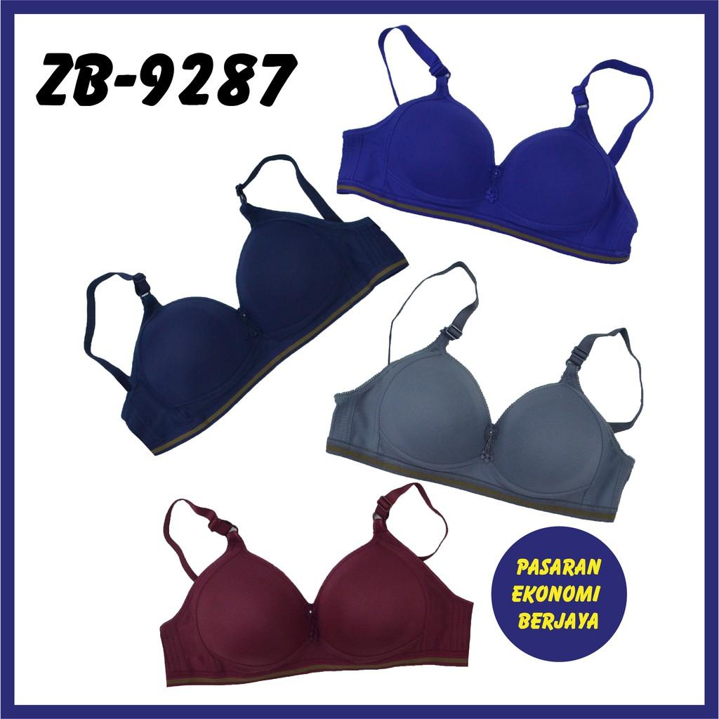BRA WANITA B-CUP ZB-9287#/ LINGERIE BRASSIERE/ PAKAIAN DALAM/ NON-WIRED BRA/ HIGH QUALITY SLEEP BRA/ BAJU DALAM WANITA