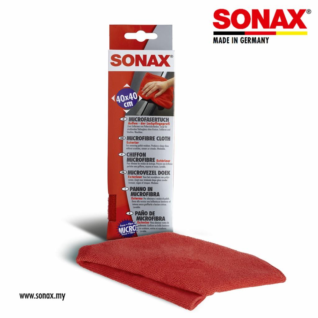 [Car Accessories] SONAX Microfibre Cloth Exterior