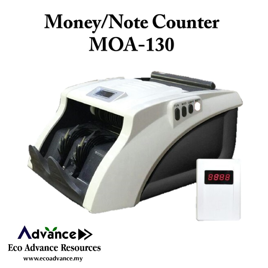 Money/Note/Bill Counter MOA-130