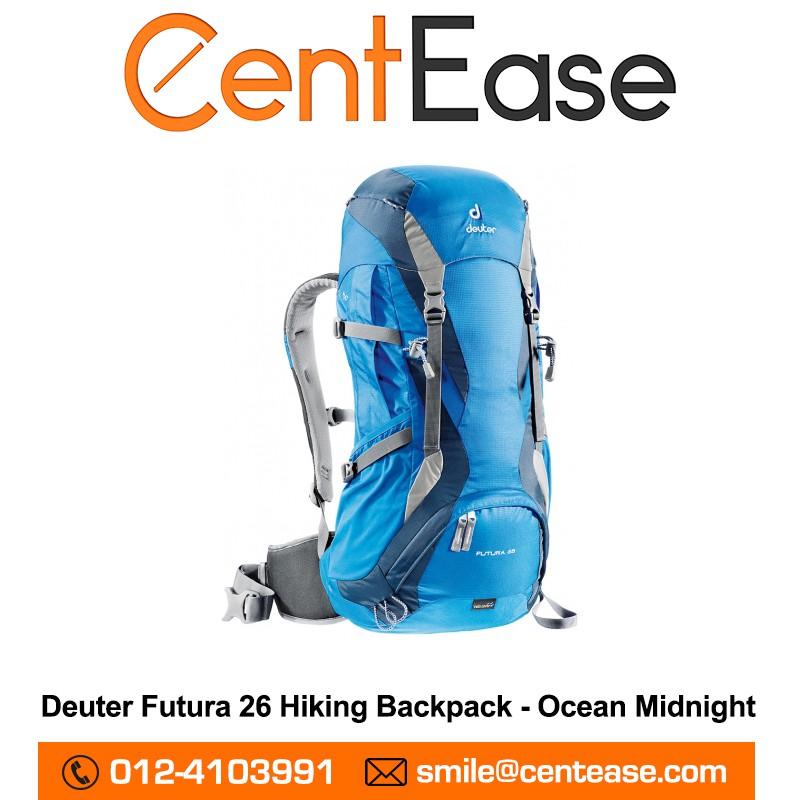 5bb6f2ff Deuter Fox 40L Backpack - Spring Midnight | Shopee Malaysia