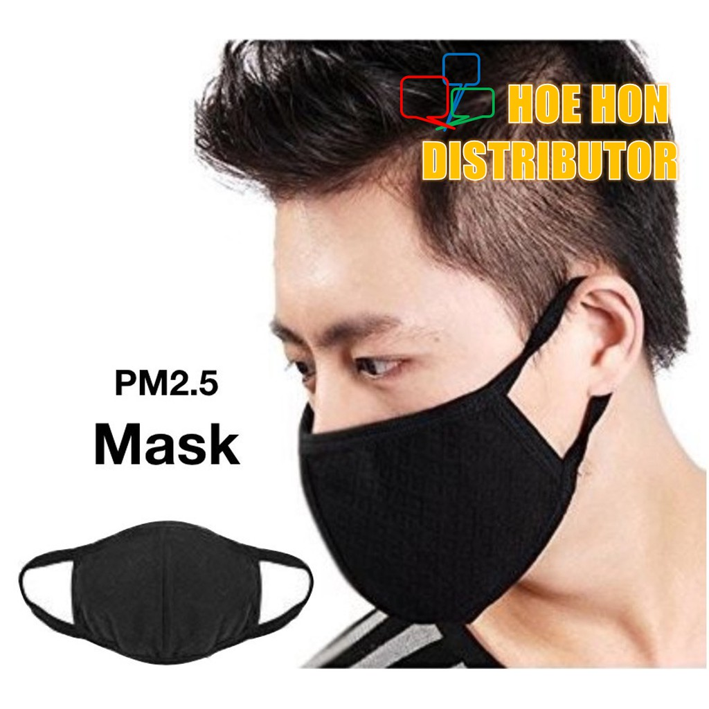 Korea Fashion Cotton Face Mask 3 Layer / Topeng Muka / Mulut