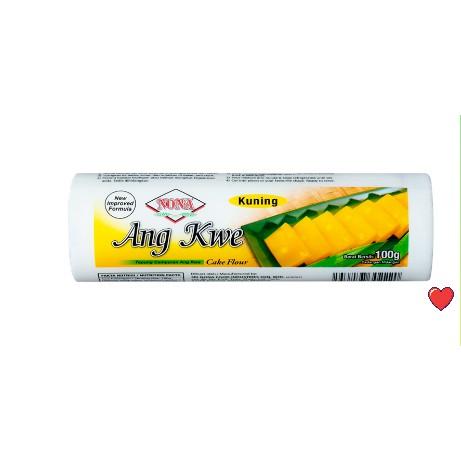 Nona Hoen Kwe Cake Flour 100g ~ Yellow / Kuning  @ 100g ( Free Fragile + Bubblewrap Packing )