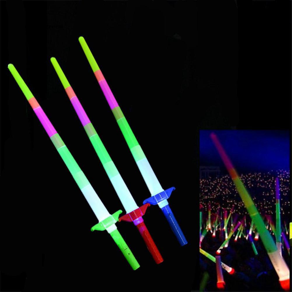 Glow Sticks & Glow Jewellery Green Sword Neon Wand/Stick Glowstick Party Luminous Kids Toy 3+
