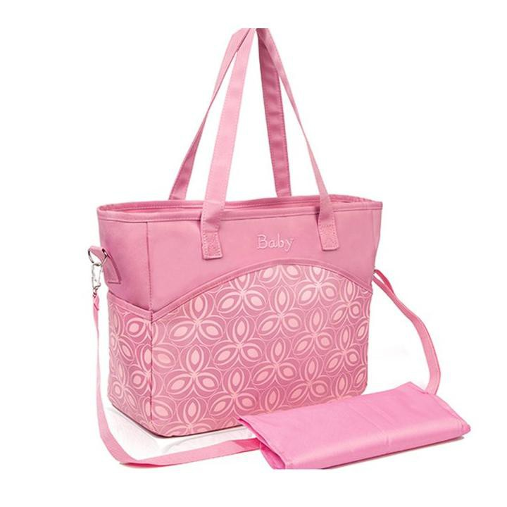 Mylilangelz KA0176 Maternity Bag - Pack N Go Diaper Bag (Pink) (READY STOCK)