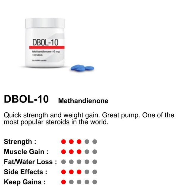 Gainz Lab Dbol-10 100tablet