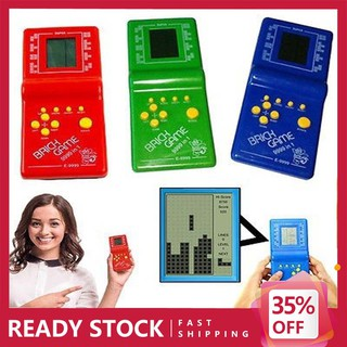 Dazzling Toys Hot Kids Toys Educational Tetris Game Hand Held LCD Electronic Toys Brick Game Toys & Games Games