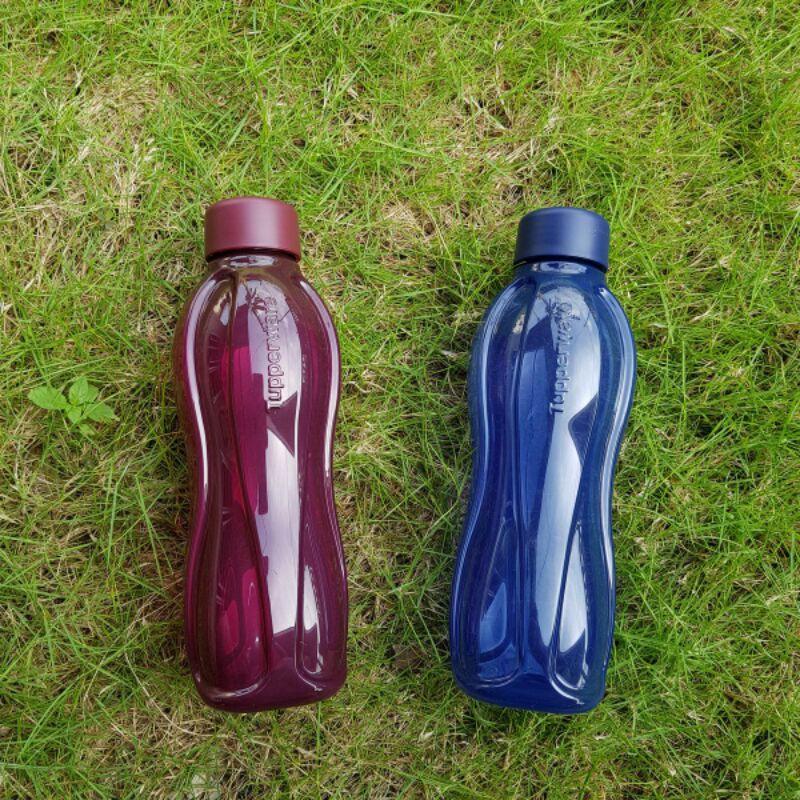 PRE ORDER 2WEEKS!! Eco Bottle Tupperware 500ml/750ml/1000ml Blue/Maroon