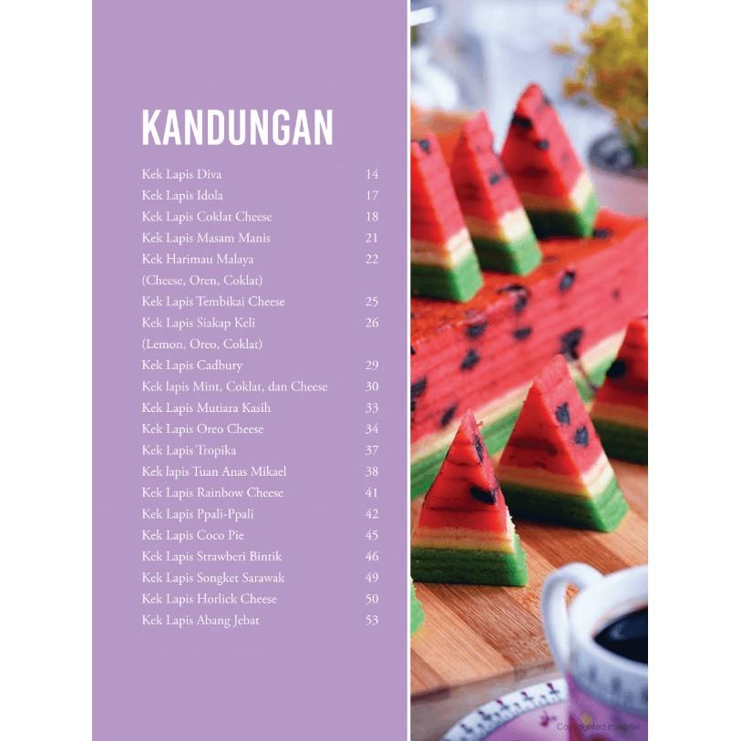 Buku Resepi 77 Resipi Kek Lapis Sarawak Noy Yullan