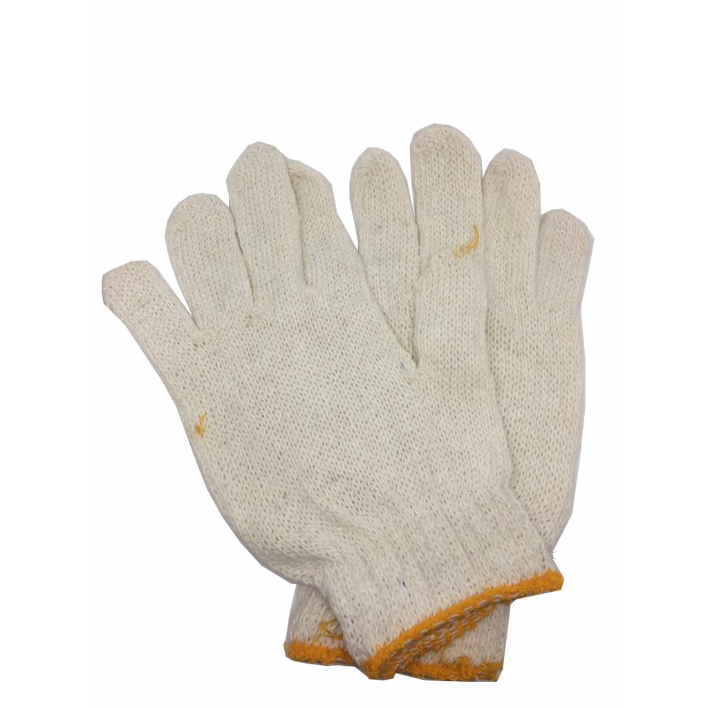 1 PAIR &  1 DOZEN COTTON GLOVE SARUNG TANGAN KAPAS