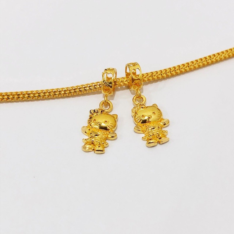 Pandora Emas 916 Charms Hello Kitty Shopee Malaysia
