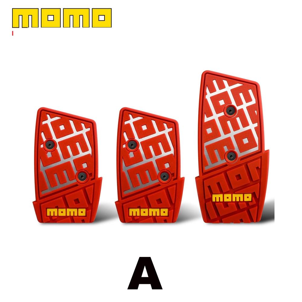 MOMO DNA Manual Pedal Kit - Red/Blue