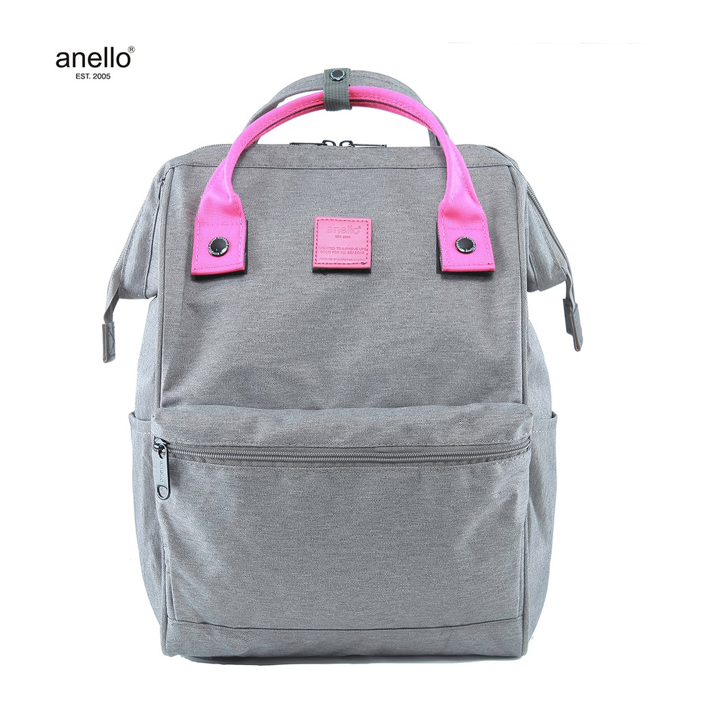 d6170c09c7f8 anello High Density Polyester 10 Pockets 2Way Backpack