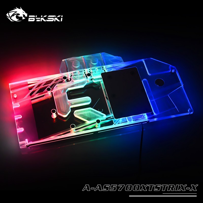 GPU Water Cooling RGB Copper Block For ASUS ROG Strix RTX2080 O8G Gaming