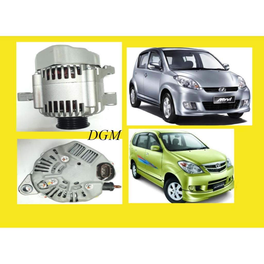 Perodua Myvi 1.3 2005-2010y / Toyota Avanza 1.3 F601 2003-2006y Alternator assy (Recond)