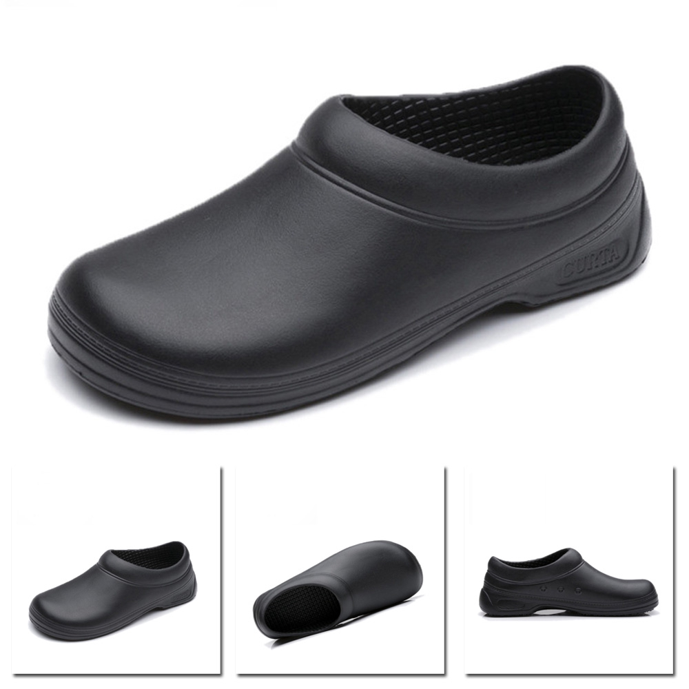 Men/'s Chef Shoes Kitchen Nonslip Shoes Safety shoes Cook Culinary School Shoes