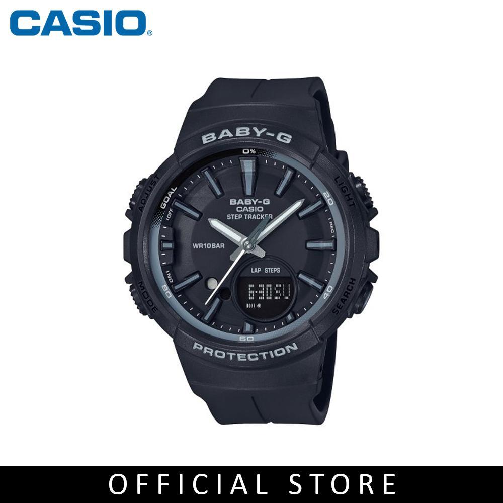 f6a5865f7bf5 Sports Watch Casio Baby-G BGA-131-1B2 Analog Digital Ladies Black Strap    Shopee Malaysia