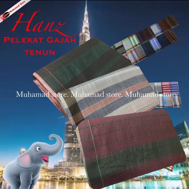 Muhamad Store Hanz Pelikat Gajah Tenun Pilihan