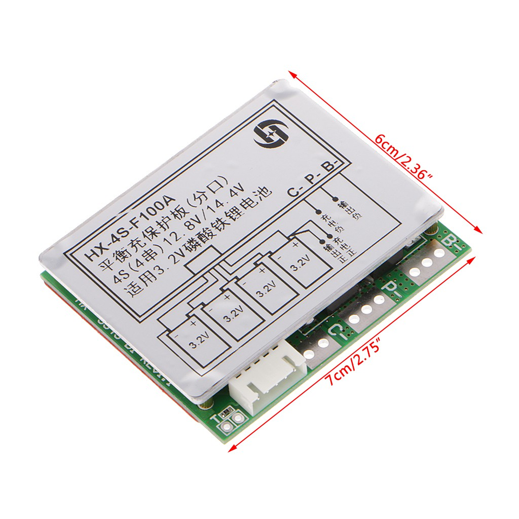 3s 111v 126v 25a W Balance 18650 Li Ion Lithium Battery Pcb 108v 20a Protection Circuit Board Shopee Malaysia