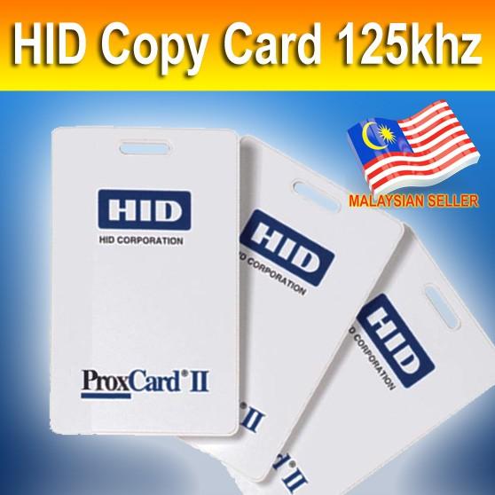 HID PROXCARD II Copy Card Clone 125khz Duplicate Writable 1386 / 1326bit  Rewrite