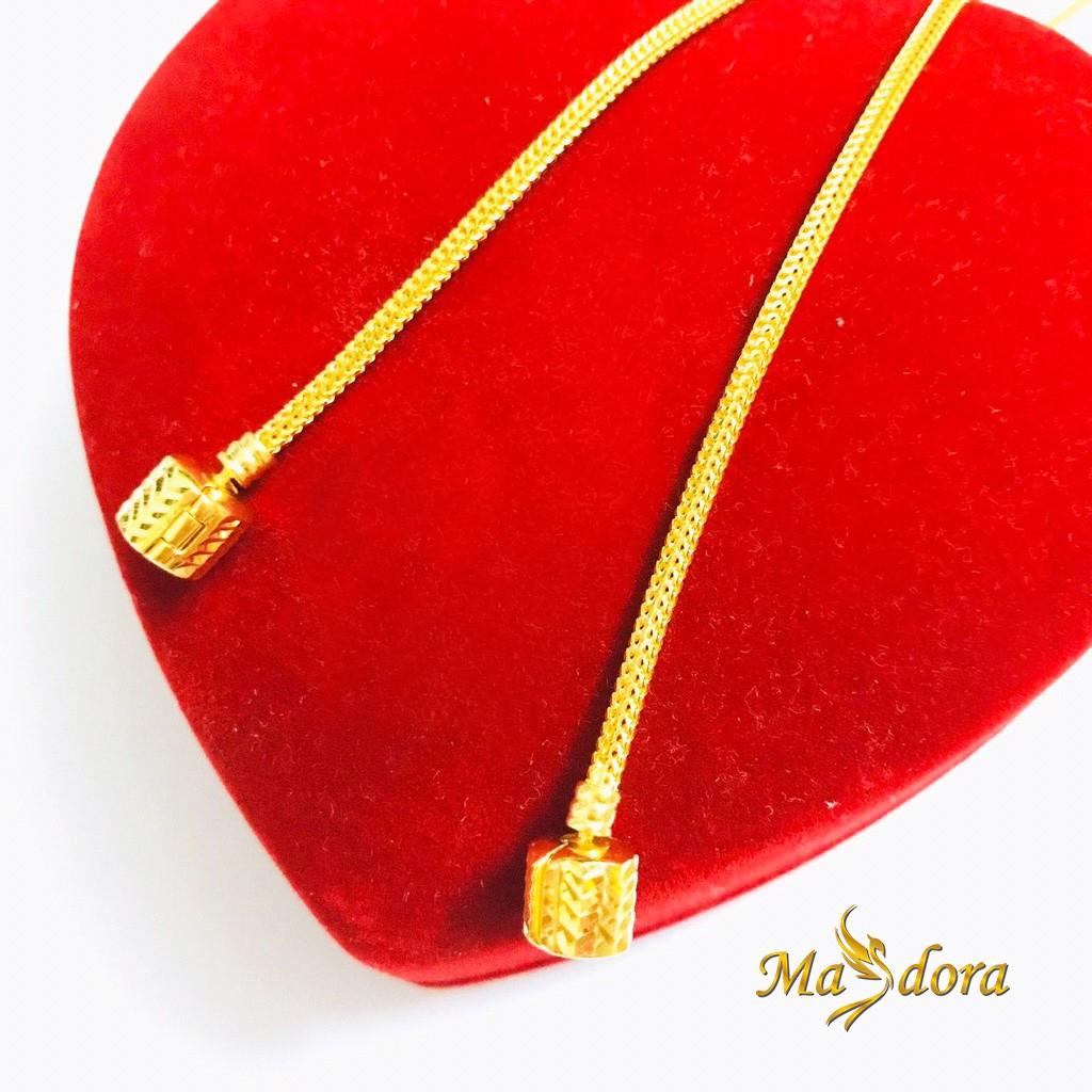 Masdora Bracelet 916 Gold / Gelang Emas Masdora Cylinder Clasp (Emas 916)
