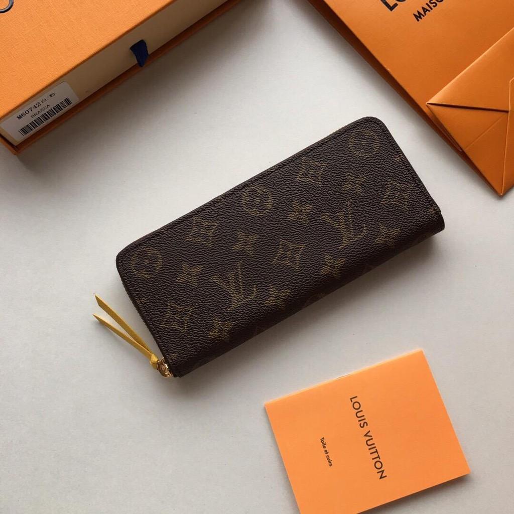factory price 634e2 594cd Clemence wallet, model: M60742 red rose red pink orange yellow white powder