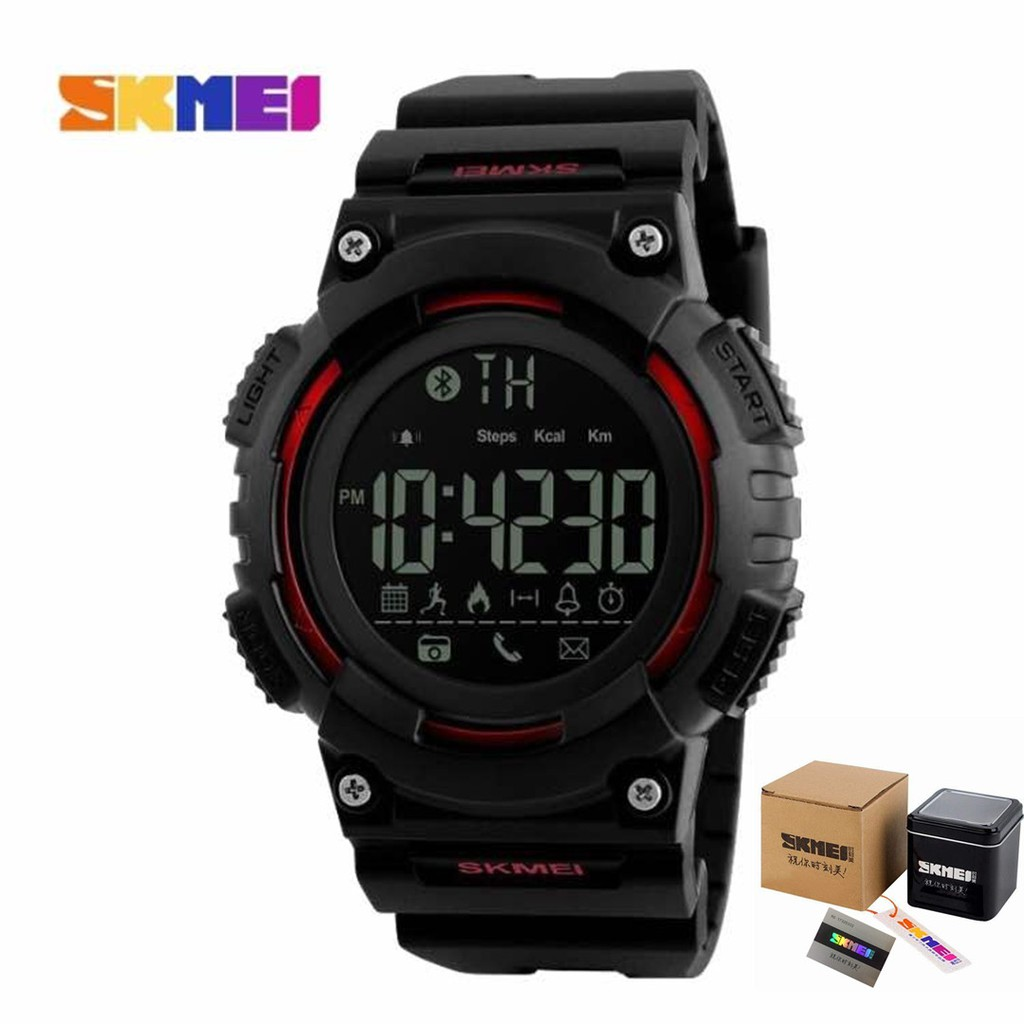 [LOCAL SELLER] SKMEI 1256 Men Women\'s Smart Watch