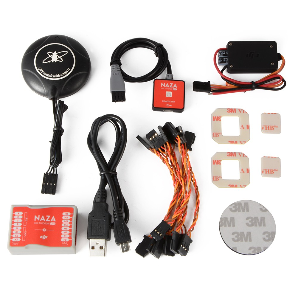Ocday Neo M8n Gps Compatible For Dji Naza Lite V1 V2 Flight Wiring Diagram Controller Rc783 Shopee Malaysia