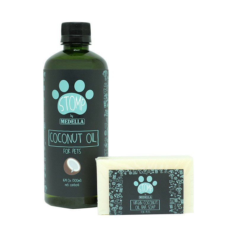 STOMP'S Coconut Oil & Virgin Coconut Oil Bar Soap (for pets)