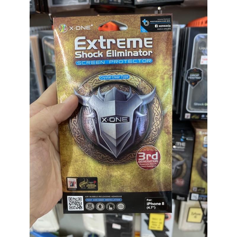 X.One Clear (Flat/Fullscreen) iPhone 7/8/Se 2/Plus/X/Xr/Xs/Xs Max/11/11 Pro, Max/12/12 Pro, Max 3rd Gen Extreme Xone