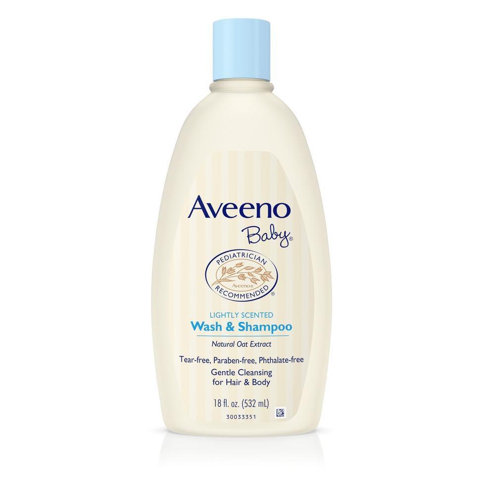 Aveeno Baby Wash & Shampoo (354ml)