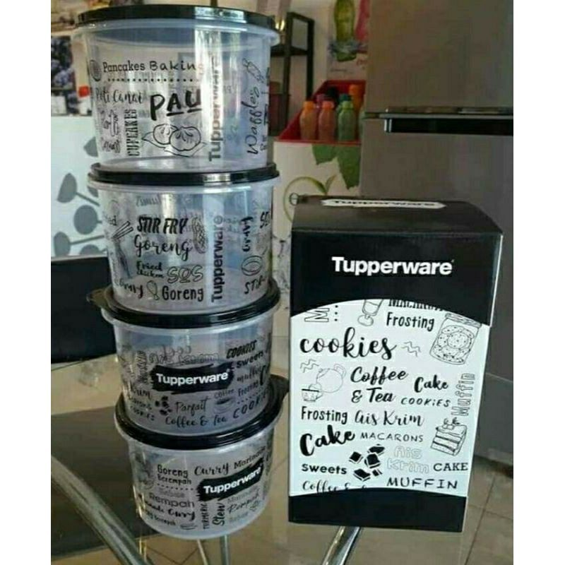 [Ready Stock] Tupperware Trendz Kitchenette Set