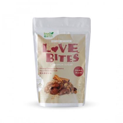 Love Earth Love Bites Cinnamon Sugar 浅烤系列 肉桂糖粉口味 40G